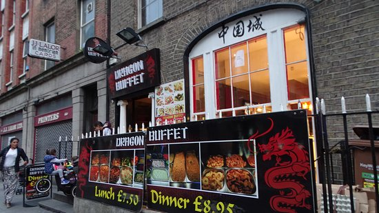 Seafood Served Only At Night Review Of Dragon Buffet Foods Limited Dublin Ireland Tripadvisor