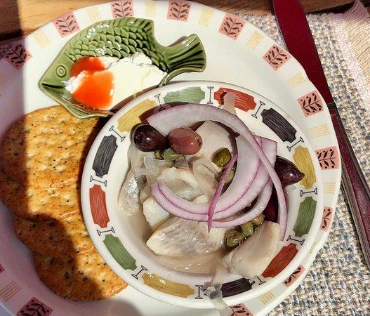 Landmark Cafe: Pickled Herring