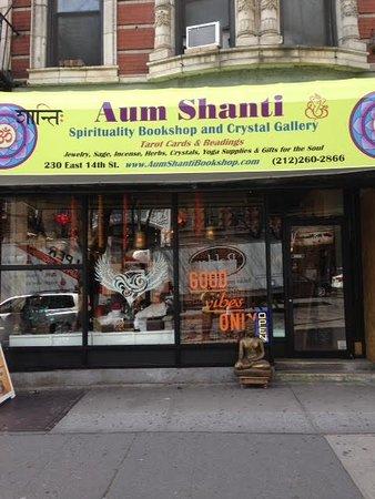 Aum Shanti Bookshop
