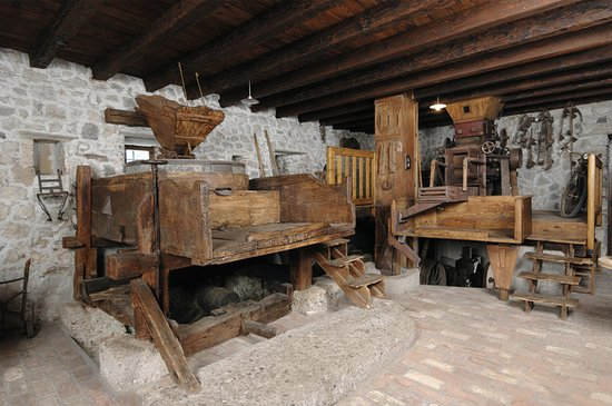 Джемона-дель-Фриули, Италия: Interno del Museo dell'arte molitoria (sala macine dell'antico Mulino Cocconi)