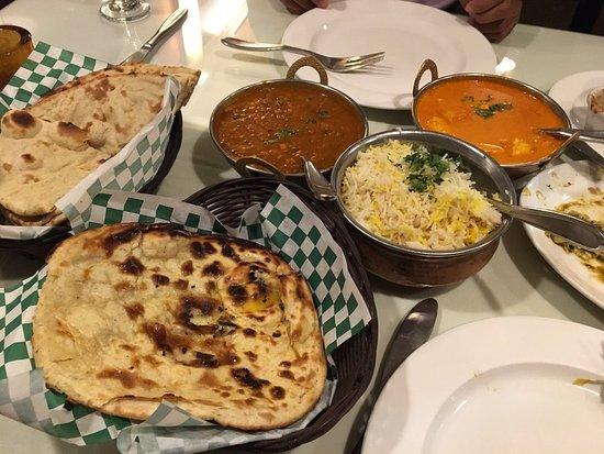 Dal Makhani Paneer Naan Bengal Tiger Indian Restaurant