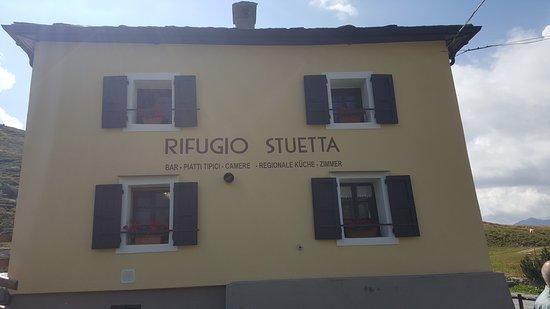 Montespluga, Италия: Vista rifugio