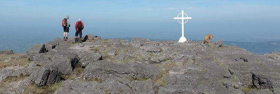 Tipperary, Ireland: Top of Galtymore looking north.