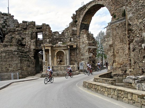 Colakli, Turquie : Fietsen en cultuur