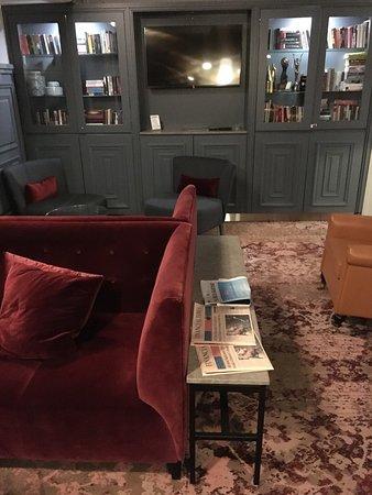 Hotel Katajanokka: Lobby bar