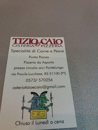 Osteria Pizzeria Tizio e Caio照片