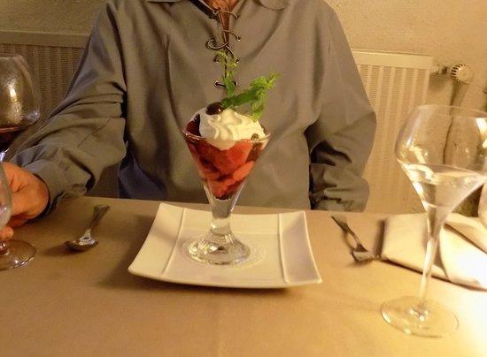 Gincla, ฝรั่งเศส: Le Grand Duc dessert - yummy