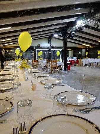 Infine la terza sala per festeggiamenti vari come compleanni, serate danzanti e tanto altro.