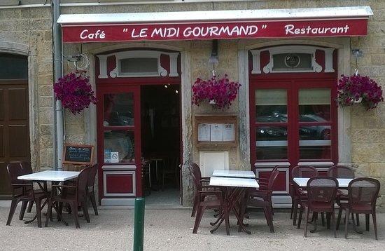Saint-Martin-en-Haut, فرنسا: Le midi gourmand