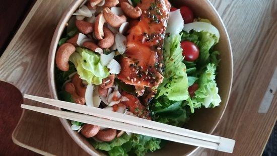 Menu Picture Of Salmon Samurai Singapore Tripadvisor