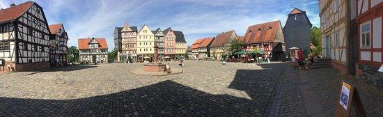 Neu-Anspach, Tyskland: Main Square in Hessenpark