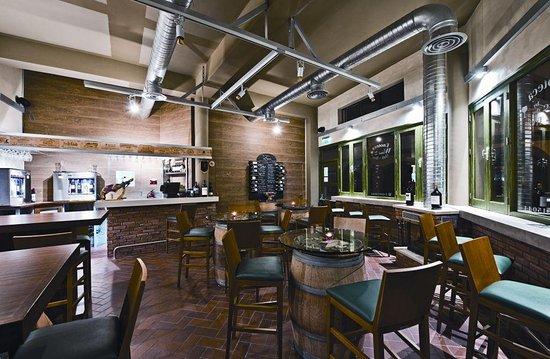 The Oak Tree Wine Cellar & Tasting Room: inside our wine cellar