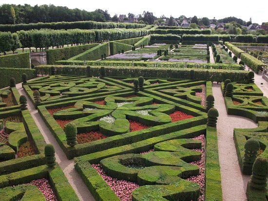 Le Jardin d\'Ornement - Photo de Château de Villandry, Villandry ...