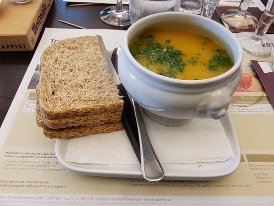 Cafe' Trappisten Westmalle, Belgium