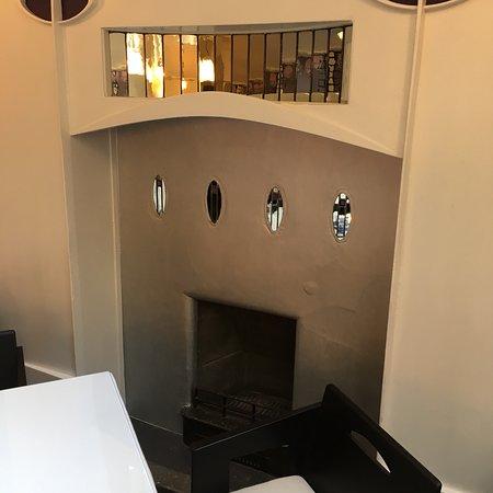 Recently restored authentic Mackintosh Tea Rooms