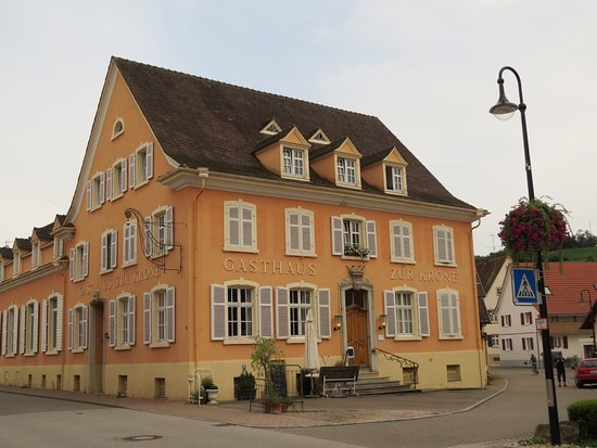 Auggen, Germany: the gasthaus Krone