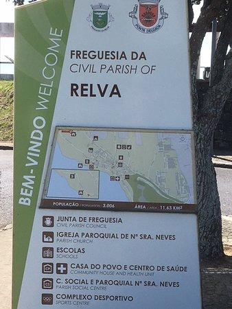 Relva, פורטוגל: kaartje