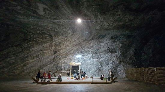 Ocnele Mari Salt Mine