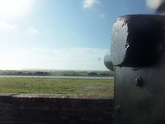 Fort Macon: View