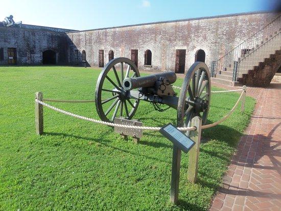 Fort Macon: Inside