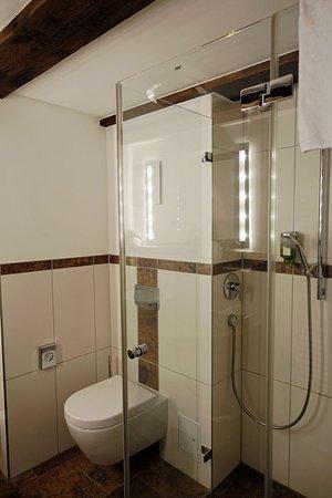 Dusche im Zimmer 441