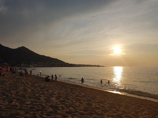 Aregno Beach: 20180822_193348_large.jpg
