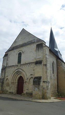 Maine et Loire, France: Eglise St-Denis Pontigné XIIè-XIIIè
