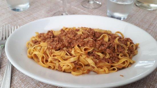 Vergato, Italien: Tagliatelle al ragù bolognese