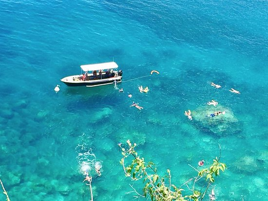 Bouillante, Guadeloupe: Snorkeling au Jardin Japonais