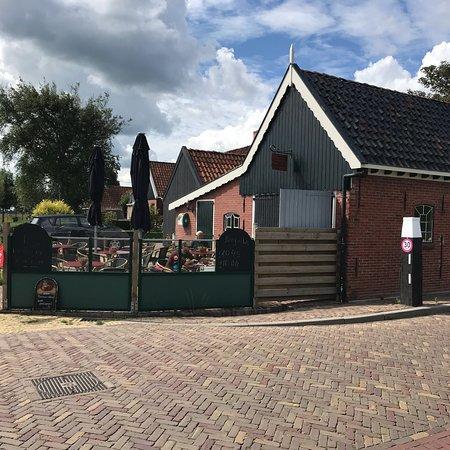 Moddergat, The Netherlands: Terras
