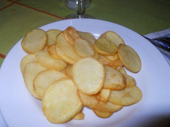 Grenzach-Wyhlen, Tyskland: Kartoffelscheiben
