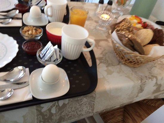 Anholt, Danmark: Dejlig morgenmad