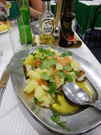Maca Verde: Bacalhau