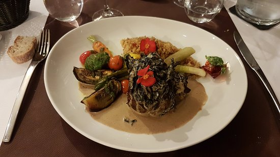 Garrevaques, فرنسا: Respas au restaurant