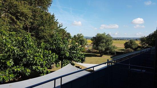 Garrevaques, فرنسا: Terrasse de la chambre