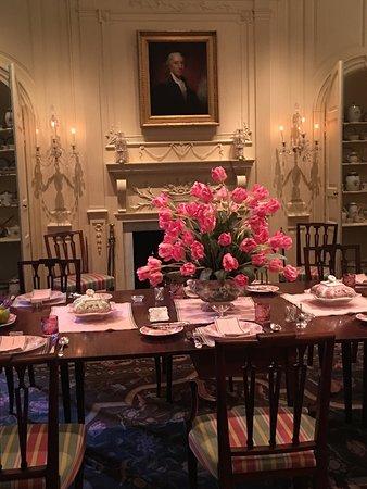 Winterthur, DE: Formal dining room.