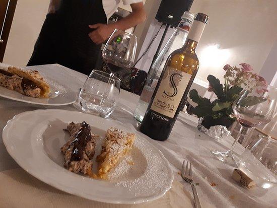 Cosio di Arroscia, Италия: dolci deliziosi