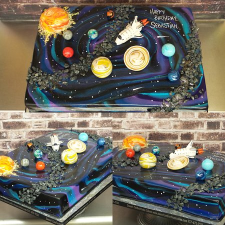 Astonishing Outer Space Cake Picture Of Sweet Confections Cakes Harrisburg Funny Birthday Cards Online Inifofree Goldxyz