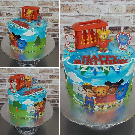 Miraculous Daniel Tiger Themed Cake Picture Of Sweet Confections Cakes Funny Birthday Cards Online Elaedamsfinfo