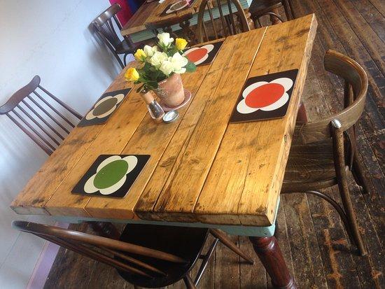Kinlochewe, UK: un tavolo