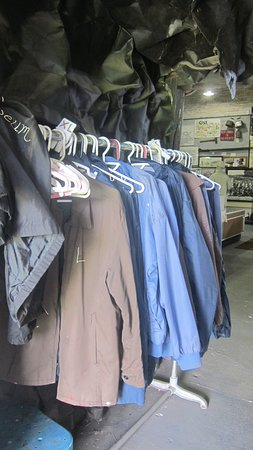 No. 9 Coal Mine & Museum: Jackets if you need one...