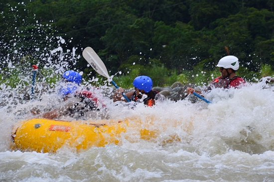 Pro Rafting Costa Rica: Sweet ride