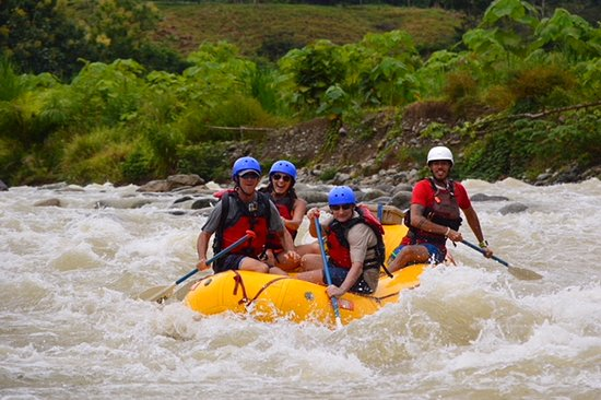 Pro Rafting Costa Rica: Here we come-Texas cowboys
