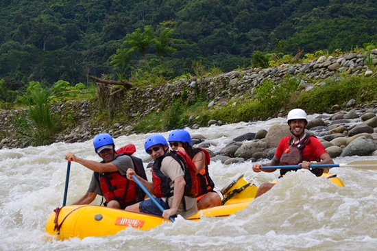 Pro Rafting Costa Rica: Another day on the water...super fun