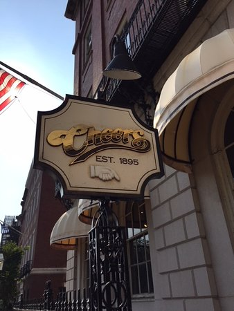 The Outside is True to the Show - Picture of Cheers Beacon