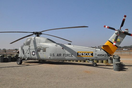 Helicopter from Vietnam era - Picture of March Field Air
