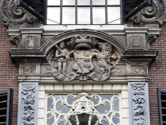 Rijksmonument Stadhuis Sneek uit 1550-1605: the relief