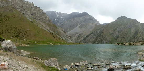 Artuch, Tajikistan: The lake