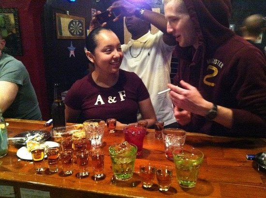 Kin-cho, Ιαπωνία: Enjoy mix-drinks and shots!