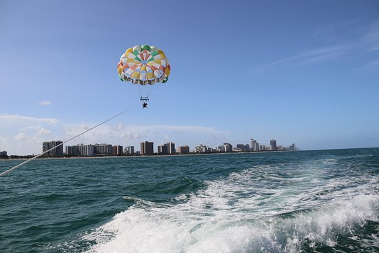 South Beach Parasail The View Is Priceless